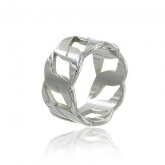 Γυναικείο Δαχτυλίδι Amulio  από ανοξείδωτο ατσάλι